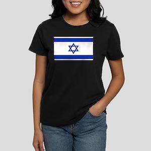 Israeli Flag Women's Dark T-Shirt