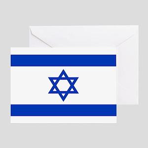 Israeli Flag Greeting Card