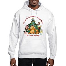 It's The Loving Hooded Sweatshirt