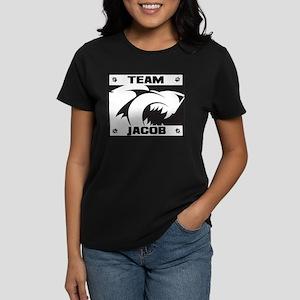 Team Jacob - Wolf Logo Women's Dark T-Shirt