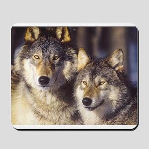 """Wolf Mates"" Mousepad"