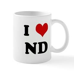 I Love ND Mug