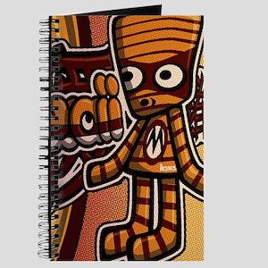 Mummy Mascot Tag Journal