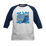 Cute Owl Kids Baseball Jersey