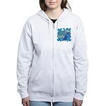 Cute Owl Women's Zip Hoodie