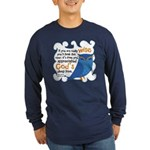 Cute Owl Long Sleeve Dark T-Shirt