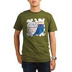 Cute Owl Organic Men's T-Shirt (dark)