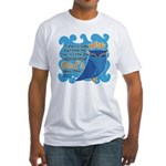 Cute Owl Fitted T-Shirt