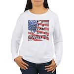 No Crime Women's Long Sleeve T-Shirt
