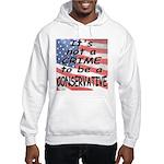 No Crime Hooded Sweatshirt