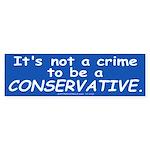 No Crime (Bumper Sticker 50 pk)