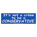 No Crime (Bumper Sticker 10 pk)