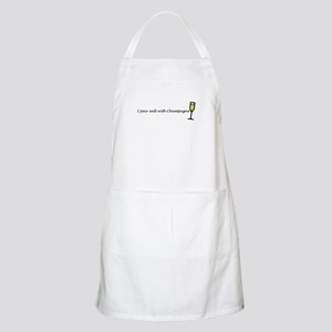 I pair well with champagne BBQ Apron
