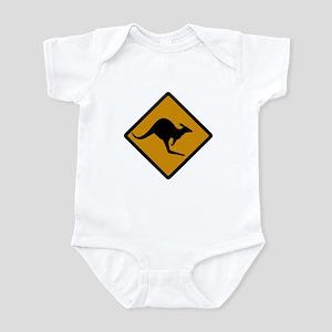 Australia Kangaroo Sign Infant Bodysuit