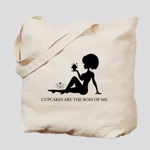 Cupcakes are the boss... Tote Bag