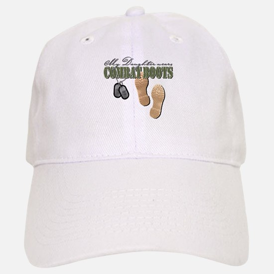 My Daughter Wears Combat Boot Baseball Baseball Cap