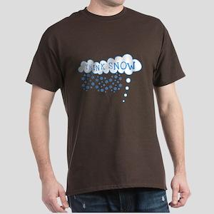 Think Snow Dark T-Shirt
