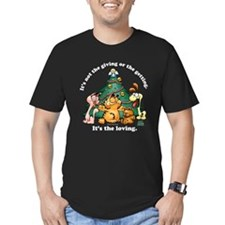 It's The Loving Men's Fitted T-Shirt (dark)