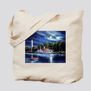 The USS Wolverine Tote Bag