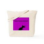 Dinosaur Make Cancer Extinct Tote Bag (P/B)