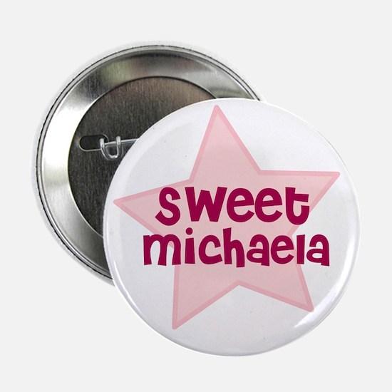 """Sweet Michaela 2.25"""" Button (10 pack)"""