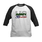 US Army Brother Kids Baseball Jersey