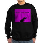 Dinosaur Make Cancer Extinct Sweatshirt (dark)