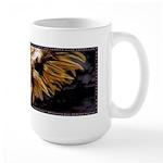 Male Angel Large Mug