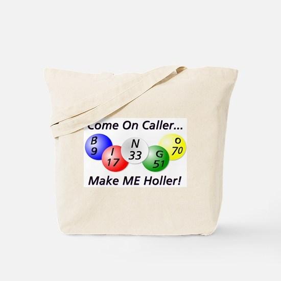 Come on Caller! Bingo! Tote Bag