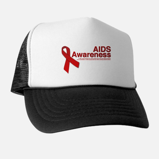 AIDS Awareness Trucker Hat