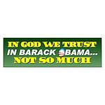 In God We Trust Bumper Sticker (10 pk)