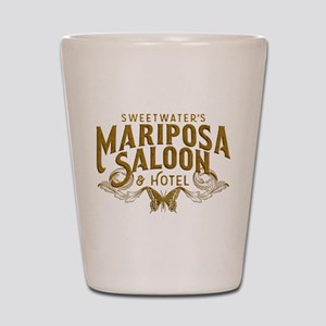 WW Mariposa Saloon Shot Glass