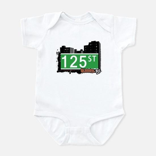 125 STREET, QUEENS, NYC Infant Bodysuit