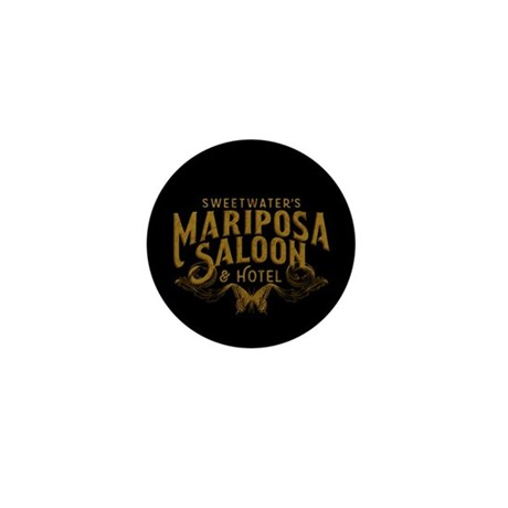 WW Mariposa Saloon Mini Button