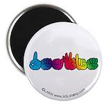 Rainbow DEAFIE Magnet