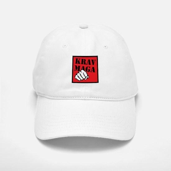 Krav Maga with Fist Baseball Baseball Cap