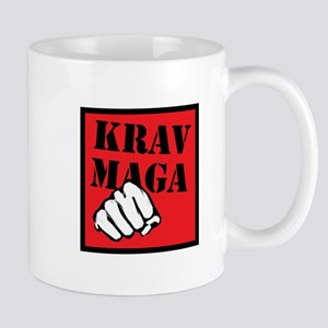 Krav Maga with Fist Mug