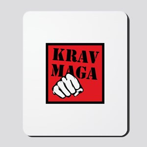 Krav Maga with Fist Mousepad