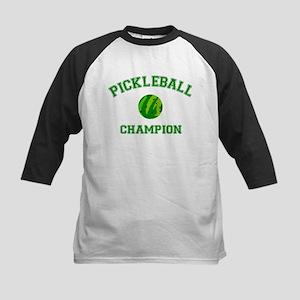 Pickleball Champion - Kids Baseball Jersey
