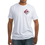 Dual Flag & Moo Fitted T-Shirt