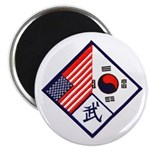Dual Flag & Moo Magnet