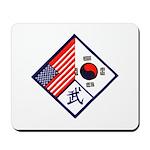 Dual Flag & Moo Mousepad