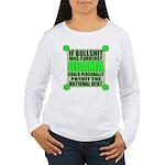 If Bullshit was Currency Women's Long Sleeve T-Shi