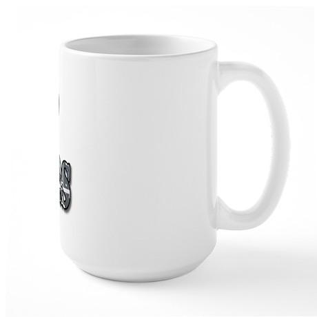I heart coasters Large Mug