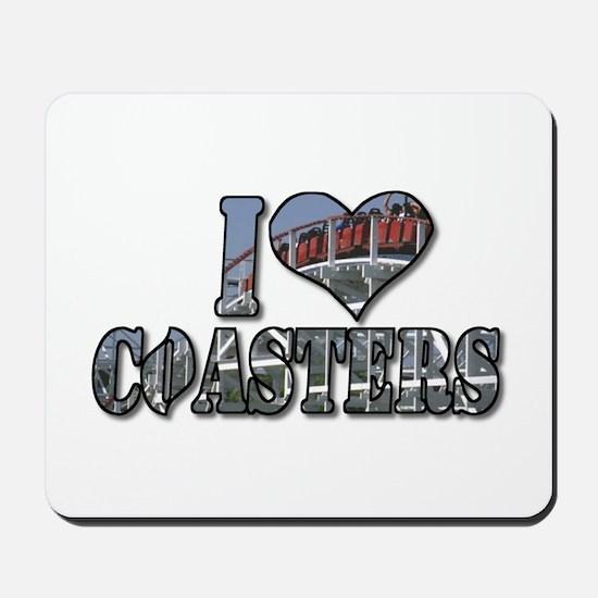 I heart coasters Mousepad