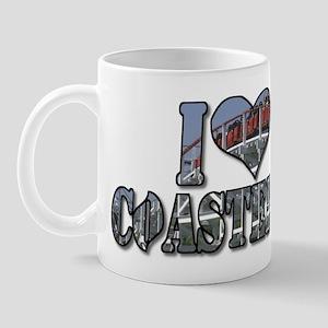 I heart coasters Mug