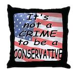 Not a Crime -- Throw Pillow