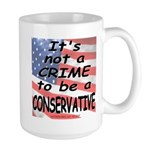Not a Crime -- Large Mug