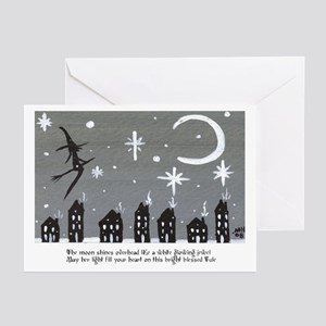 Holiday Saltbox Witch Greeting Cards (Pk of 20)