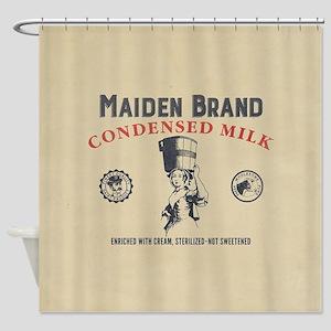 WW Maiden Brand Milk Shower Curtain